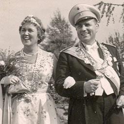 Rosemarie Haberbeck & Günther Pemeyer1959