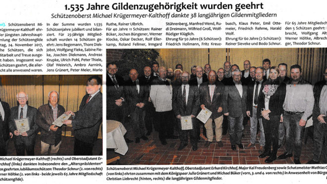 Pressebericht Generalversammlung 2017 (Postillon)