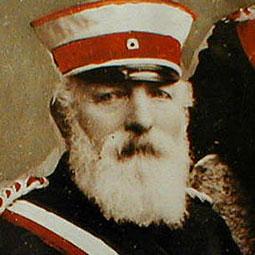 Philipp August BarckhausenOberst 1882 – 1906
