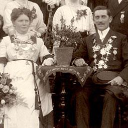 Wilhelmine Reker & Wilhelm Röscher1911