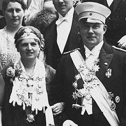 Elly Siekmann & Helmuth Bühling1929