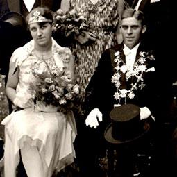 Else Schröder & Robert Schnur1930