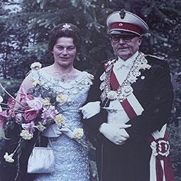 Elisabeth Sikorski & Fritz Schäffer1963